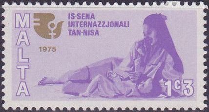 Malta 1975 International Women's Year
