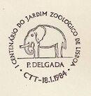 Portugal 1984 Centenary of the Lisbon Zoo PMd.jpg