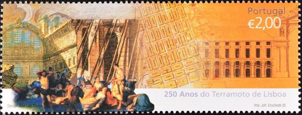 Portugal 2005 250th Anniversary of the Lisbon Earthquake b.jpg