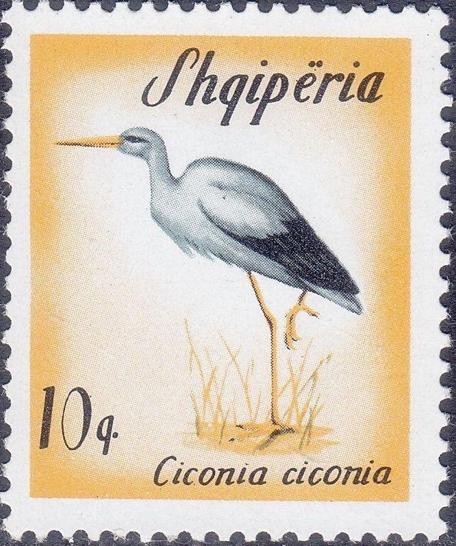Albania 1965 Migratory Birds