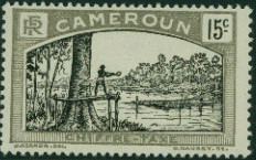 Cameroon 1925 Man Felling Tree e.jpg