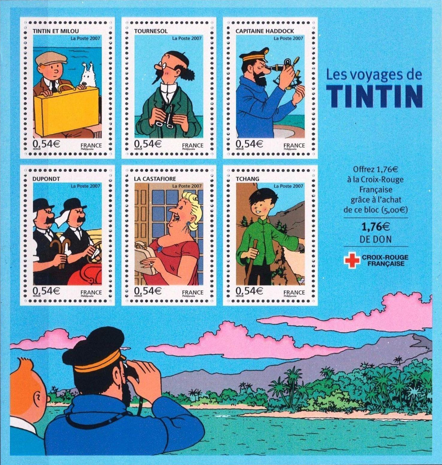 France 2007 Comics - Tintin