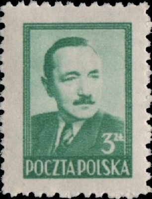 Poland 1949 President Boleslaw Bierut (2nd Group) b.jpg