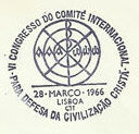 Portugal 1966 6th Congress of the International Committee for the Defense of Christian Civilization PMa.jpg