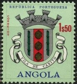 Angola 1963 Coat of Arms - (2nd Serie) i.jpg