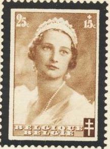 Belgium 1935 Queen Astrid Memorial Issue b.jpg