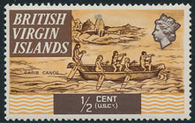 British Virgin Islands 1970 Ships