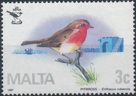 Malta 1987 Malta Ornithological Society