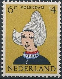 Netherlands 1960 Surtax for Child Welfare - Regional Costumes b.jpg