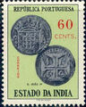 Portuguese India 1959 Portuguese Indian Coins g