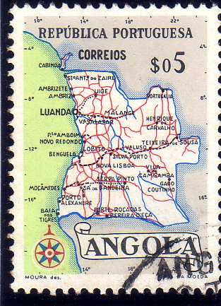 Angola 1955 Catalogue