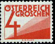 Austria 1925 Postage Due Stamps (Digit and Triangles) 1st Issue d.jpg