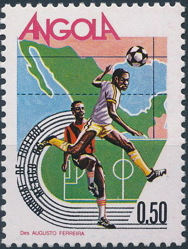 Angola 1986 World Cup - Mexico 86