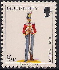 Guernsey 1974 Military Uniforms Definitive Issue