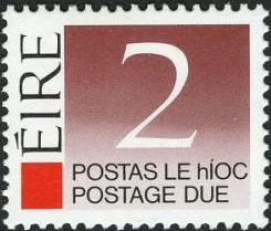 Ireland 1988 Postage Due Stamps b.jpg