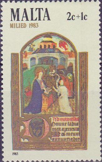 Malta 1983 Christmas