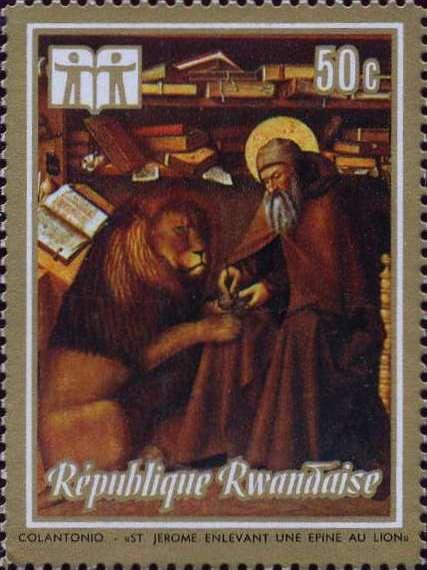 Rwanda 1973 International Book Year - Paintings c.jpg