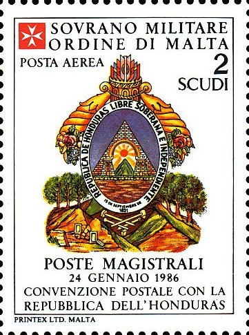 Sovereign Military Order of Malta 1986 Agreements Concluded by The Postal q.jpg
