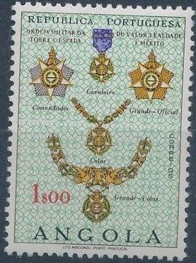 Angola 1967 Portuguese Civil and Military Orders b.jpg