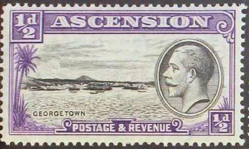 Ascension 1934 George V and Sights of Ascension