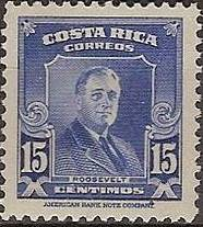 Costa Rica 1947 Franklin D. Roosevelt - Regular Stamps c.jpg