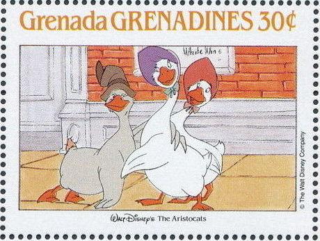 Grenada Grenadines 1988 The Disney Animal Stories in Postage Stamps 6f.jpg
