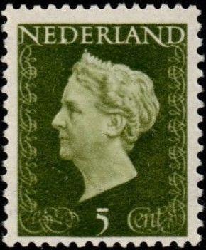 Netherlands 1948 Queen Wilhelmina - Type Hartz