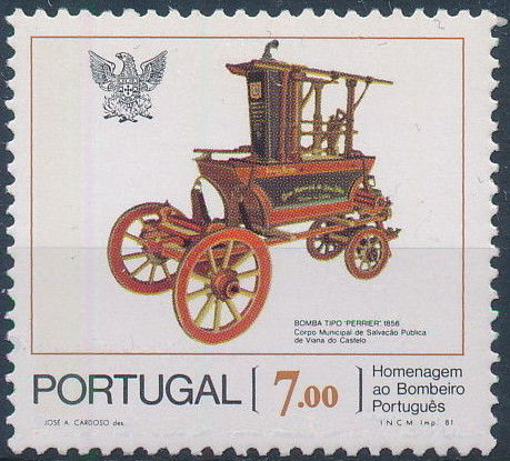 Portugal 1981 Homage to the Portuguese Fireman