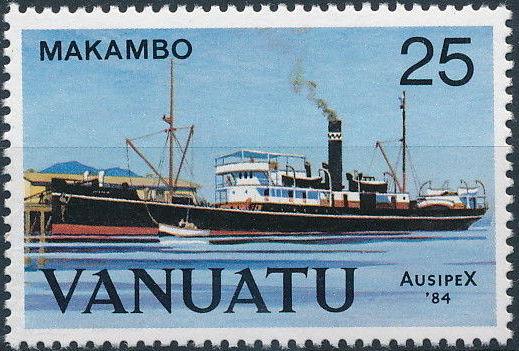 Vanuatu 1984 Ausipex '84 - Ships