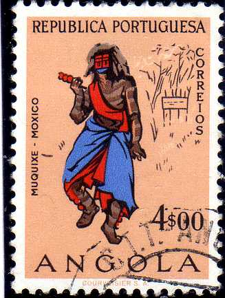Angola 1957 Indigenous Peoples of Angola k.jpg