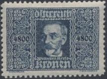 Austria 1923 Air Post Stamps (Common Kestrel and Wilhelm Kress) 2nd Group b.jpg