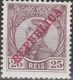 Cape Verde 1912 D. Manuel II Overprinted REPUBLICA e.jpg