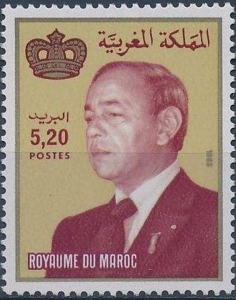 Morocco 1988 King Hassan II c.jpg