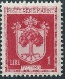San Marino 1945 Coat of Arms f.jpg