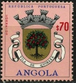 Angola 1963 Coat of Arms - (2nd Serie) f.jpg