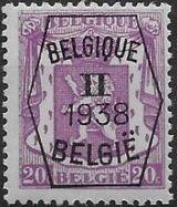 Belgium 1938 Coat of Arms - Precancel (2nd Group) b.jpg