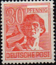 Germany-Allied Occupation 1947 2nd Allied Control Council Issue h.jpg
