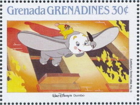 Grenada Grenadines 1988 The Disney Animal Stories in Postage Stamps 4g.jpg