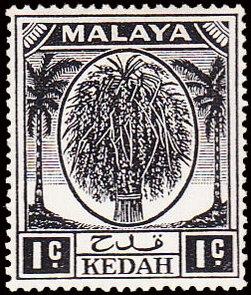 Malaya-Kedah 1950 Definitives