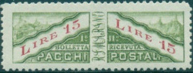San Marino 1928 Parcel Post Stamps n.jpg