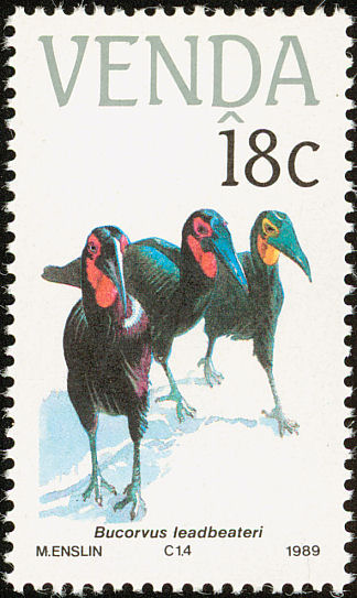 Venda 1989 Endangered Birds