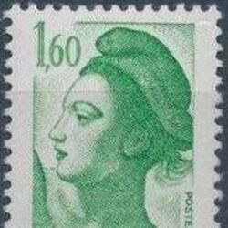 France 1982 Liberty after Delacroix (2nd Issue)
