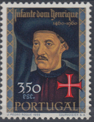 Portugal 1960 500th Anniversary of the Death of Prince Henrique the Sailor c.jpg