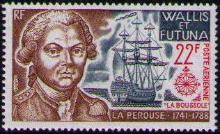 Wallis and Futuna 1973 Explorers and their Ships