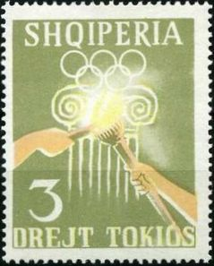 Albania 1964 18th Olympic Games Tokyo