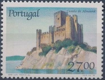 Portugal 1988 Castles and Coat of arms of Portugal (7th series) b.jpg