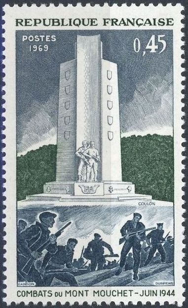 France 1969 25th Anniversary of the Battle of Mt. Mouchet a.jpg