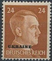 German Occupation-Ukraine 1941 Stamps of German Reich Overprinted in Black l.jpg