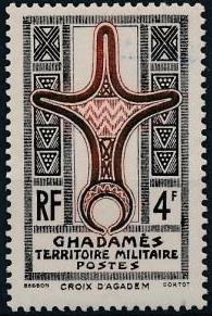Ghadames 1949 Cross of Agadem