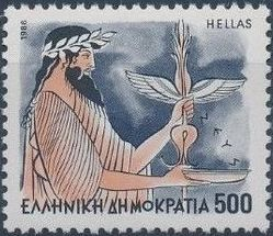 Greece 1986 Greek Gods l.jpg